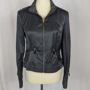Revolution by Ricki's Black Moto Jacket Zip Pocket